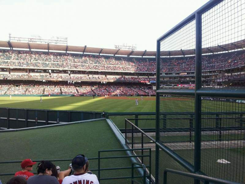 Seating view for Angel Stadium Section 257 Row E Seat 2