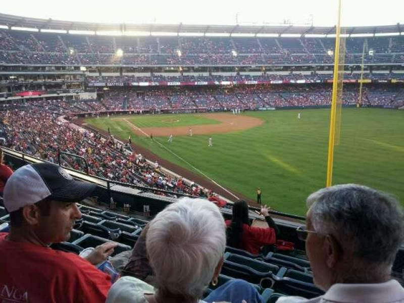 Seating view for Angel Stadium Section 348 Row E Seat 12