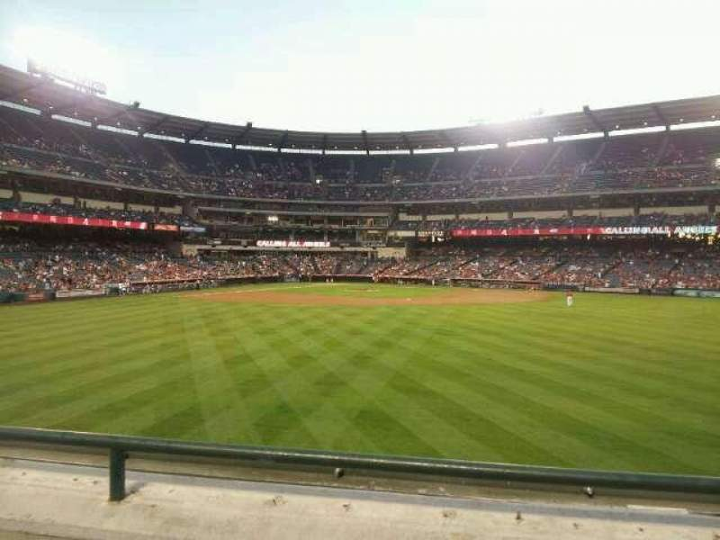 Seating view for Angel Stadium Section 239 Row B Seat 12