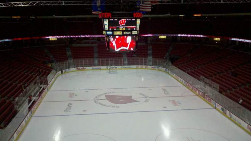 Seating view for Kohl Center