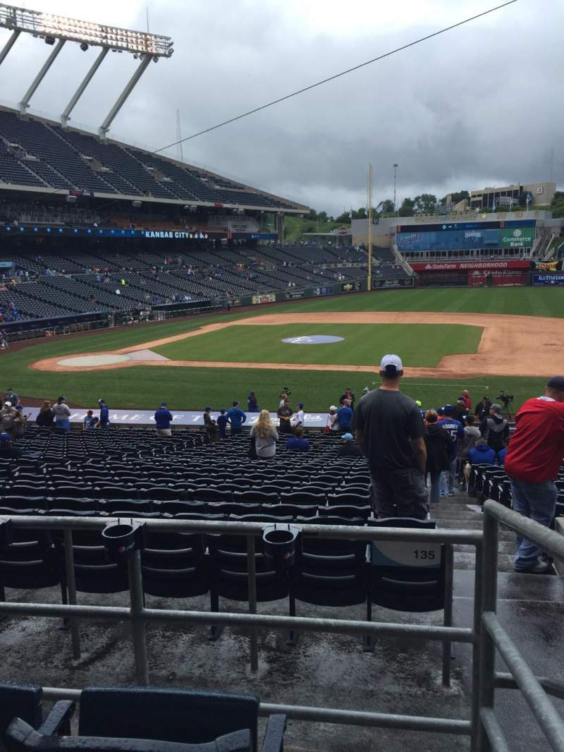 Seating view for Kauffman Stadium Section 234 Row Cc Seat 23