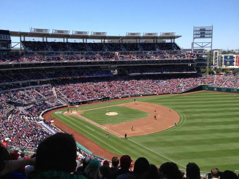 Seating view for Nationals Park Section 226 Row R Seat 9