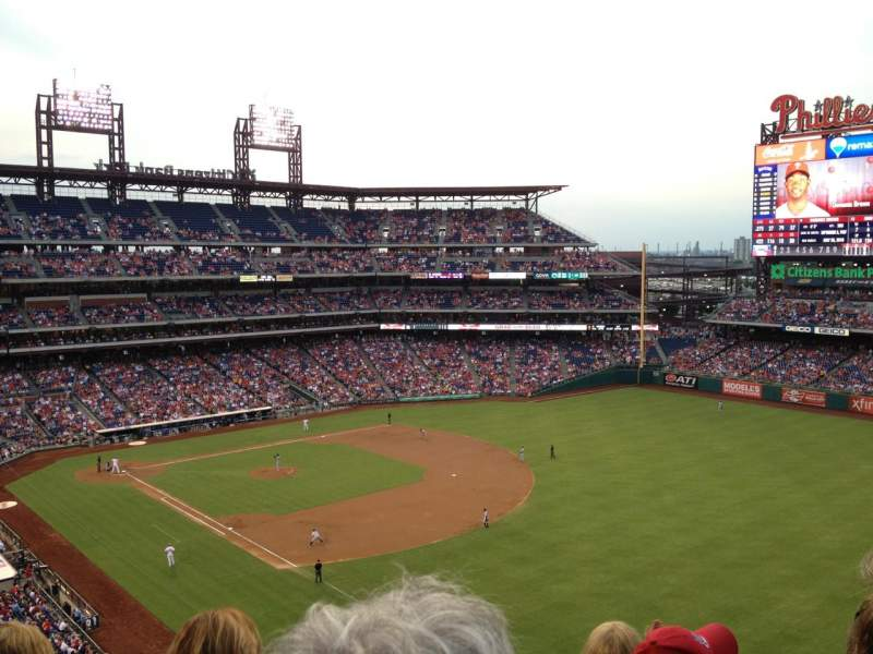 Seating view for Citizens Bank Park Section 308 Row 7 Seat 5