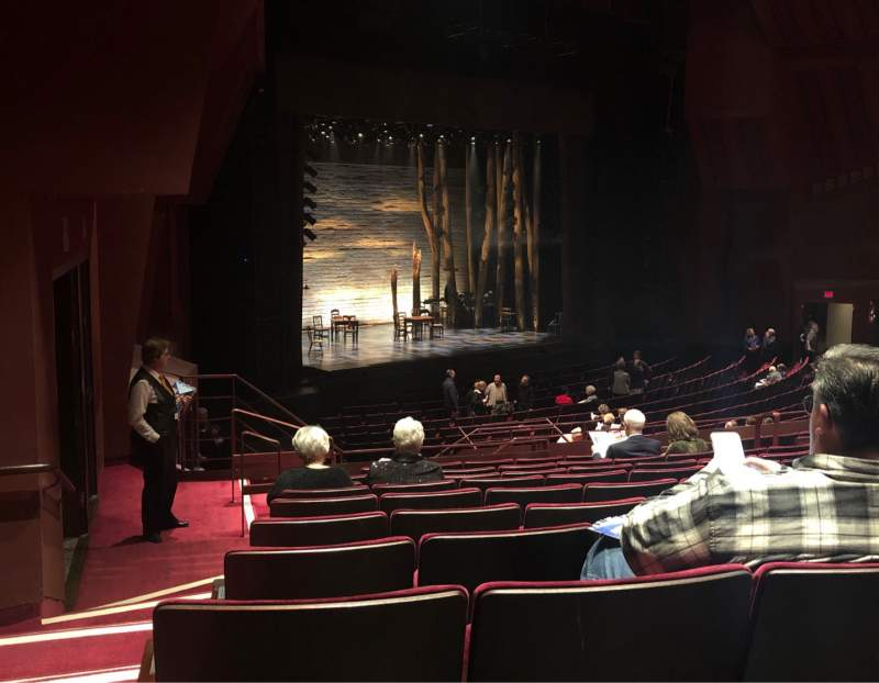 Seating view for Segerstrom Hall Section Orchestra Terrace Row L Seat 130