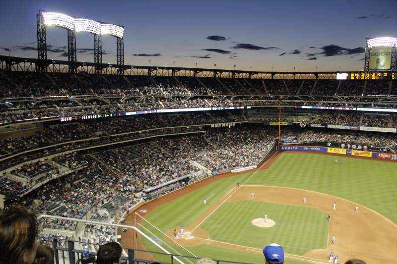 Seating view for Citi Field Section 107 Row 13 Seat 4