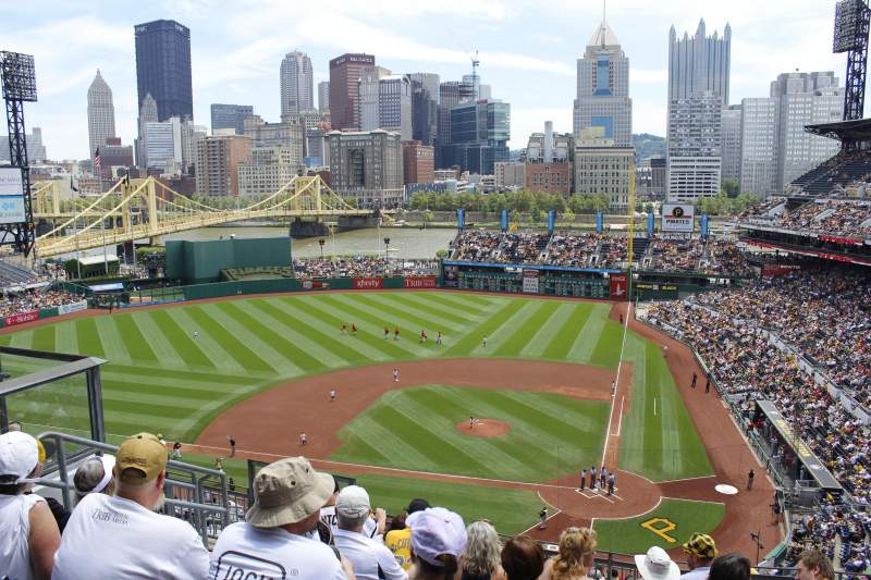 Seating view for PNC Park Section 320 Row k Seat 7