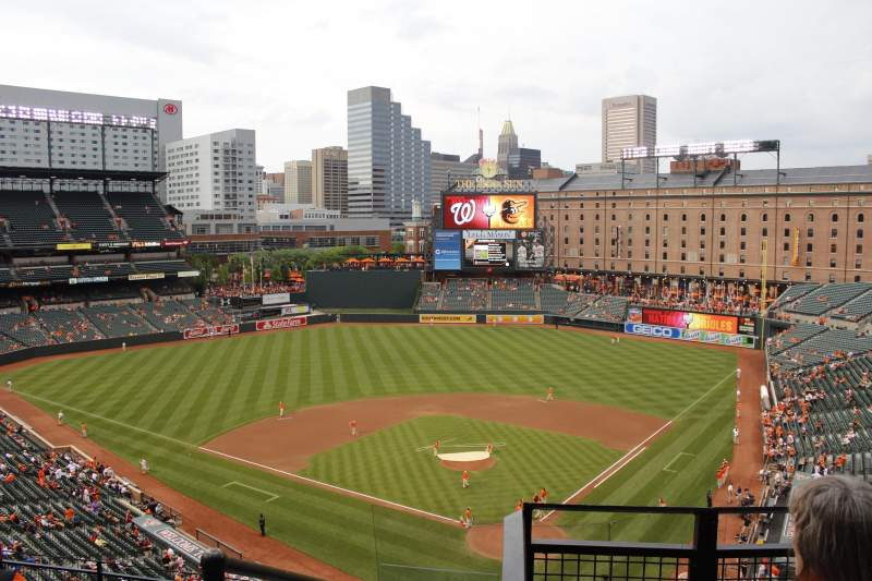 Seating view for Oriole Park at Camden Yards Section 330 Row 16 Seat 14