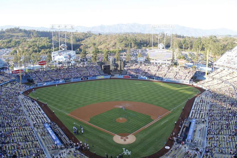 Seating view for Dodger Stadium Section 3td Row e Seat 17