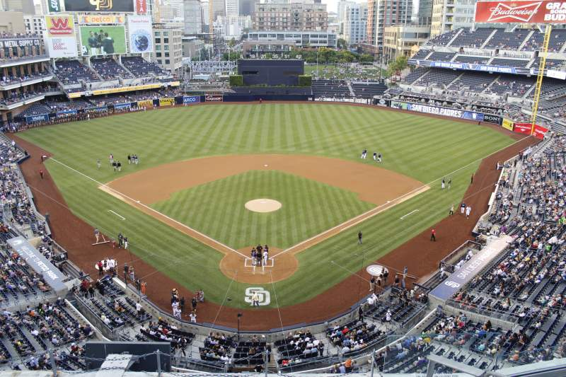 Seating view for PETCO Park Section UI300 Row 7 Seat 5