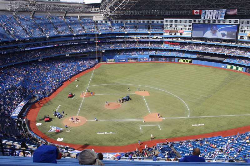 Seating view for Rogers Centre Section 520R Row 14 Seat 10