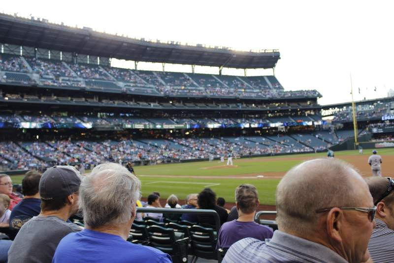 Seating view for Safeco Field