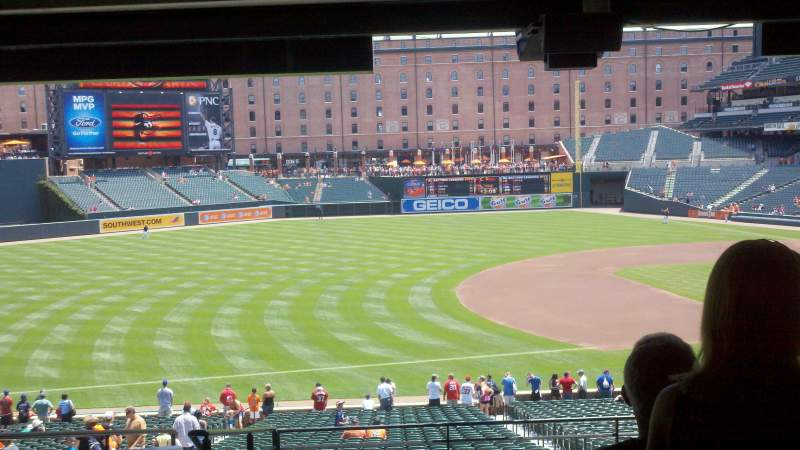 Seating view for Oriole Park at Camden Yards Section 59 Row 11 Seat 15