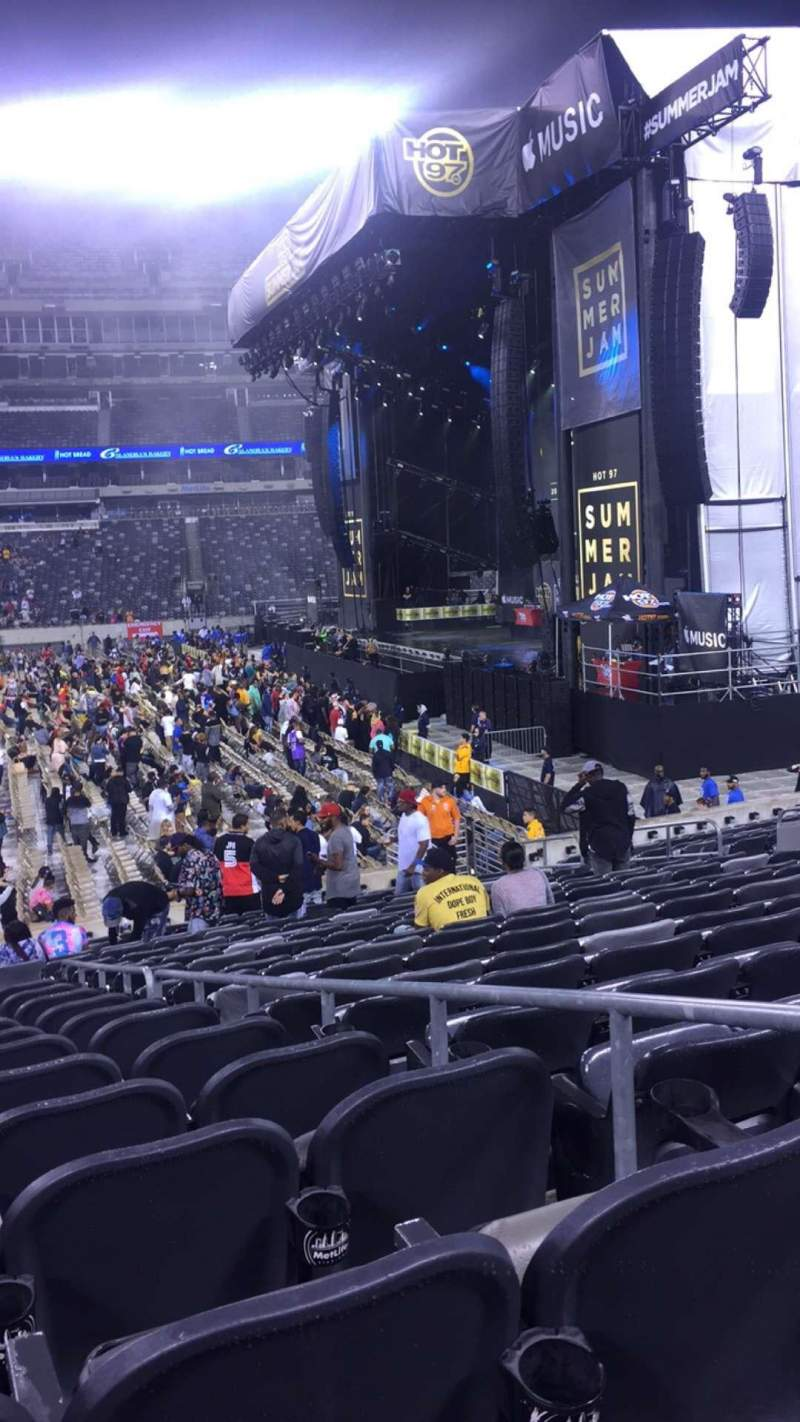Seating view for MetLife Stadium Section 111C Row 13 Seat 3