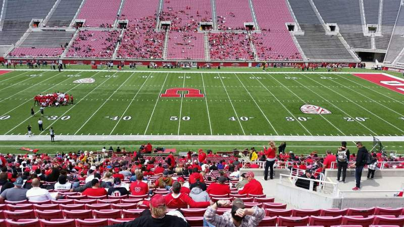 Seating view for Rice-Eccles Stadium Section E36 Row 37 Seat 15