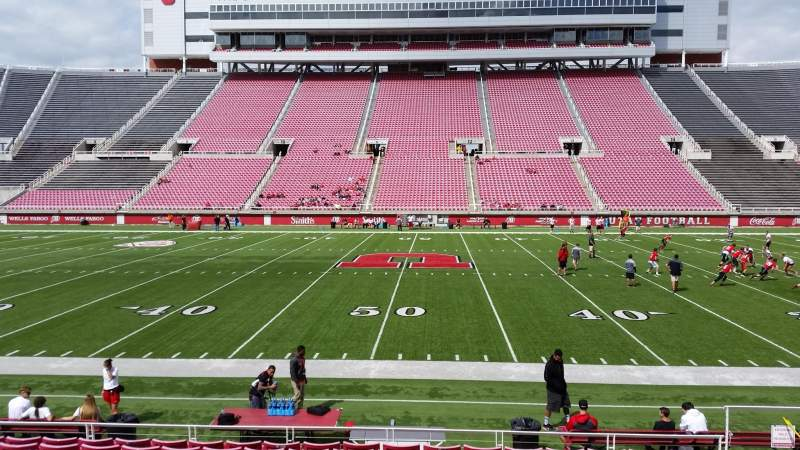 Seating view for Rice-Eccles Stadium Section E36 Row 11 Seat 15