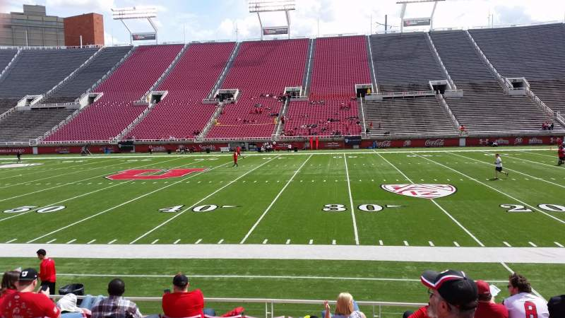 Seating view for Rice-Eccles Stadium Section W11 Row 8 Seat 20