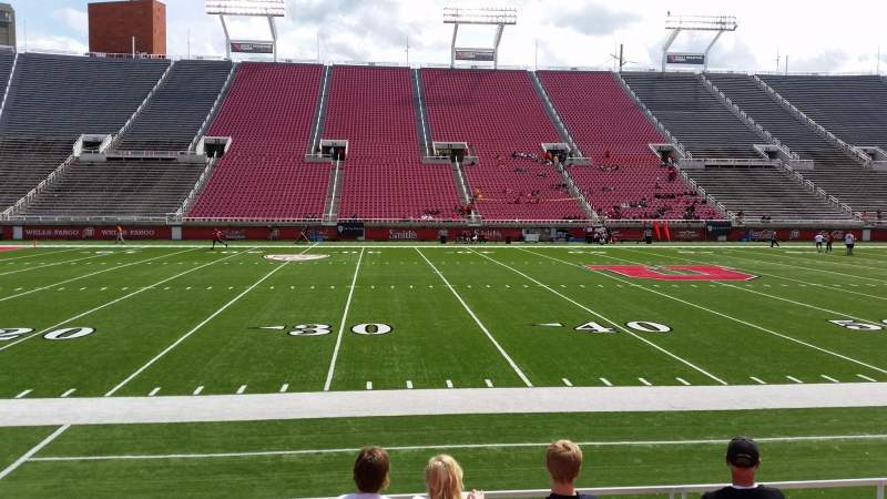 Seating view for Rice-Eccles Stadium Section W13 Row 6 Seat 19