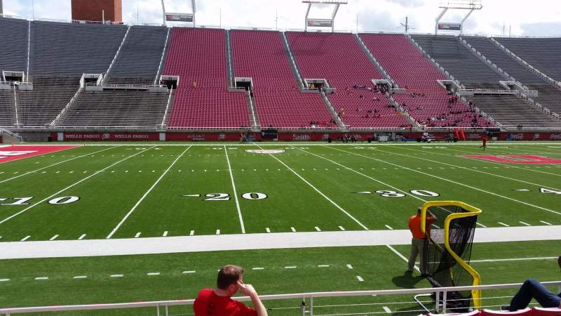Seating view for Rice-Eccles Stadium Section W14 Row 6 Seat 11