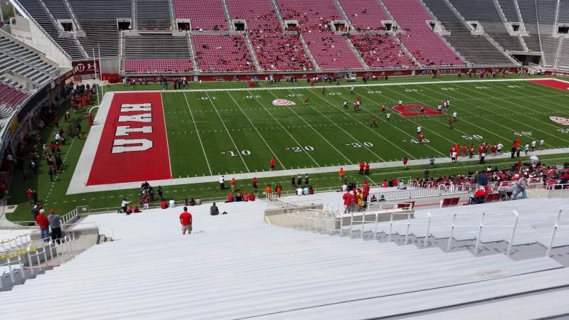 Seating view for Rice-Eccles Stadium Section E39 Row 49 Seat 21