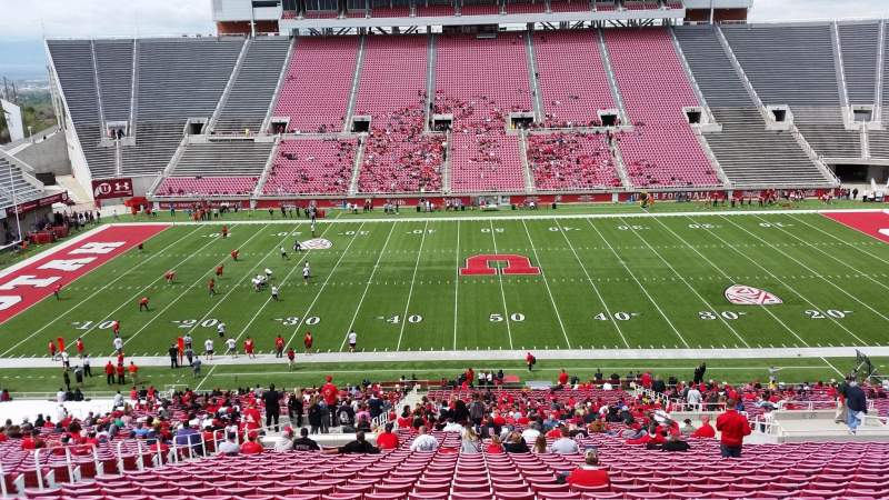 Seating view for Rice-Eccles Stadium Section E36 Row 51 Seat 25
