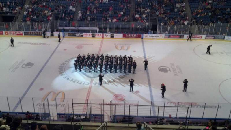 Citizens Business Bank Arena, section: 204, row: K, seat: 2