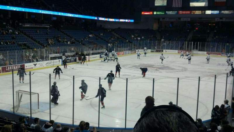 Seating view for Citizens Business Bank Arena Section 108 Row M Seat 27