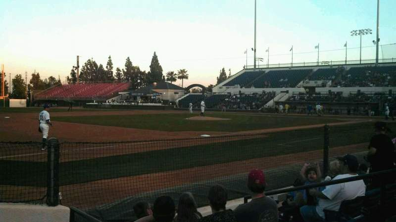 Seating view for LoanMart Field Section FB16 Row E Seat 7