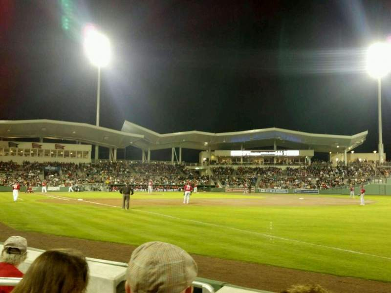 Seating view for JetBlue Park Section 115 Row 3 Seat 21