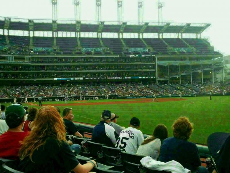 Seating view for Progressive Field Section 125 Row D Seat 24