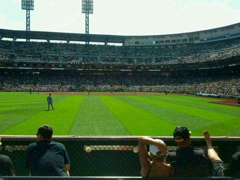 Seating view for PNC Park Section 135 Row E Seat 17