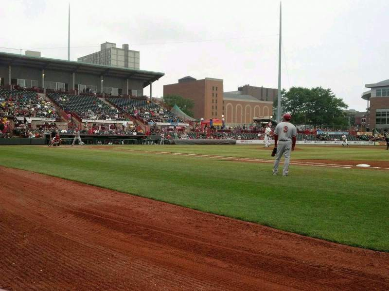 Seating view for UPMC Park Section 104 Row A Seat 13