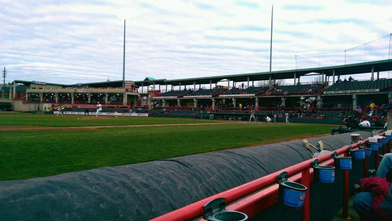 Seating view for UPMC Park Section 113 Row A Seat 20