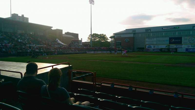 Seating view for UPMC Park Section 105 Row E Seat 17