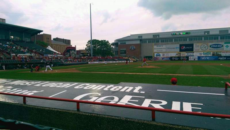 Seating view for UPMC Park Section 106 Row E Seat 2