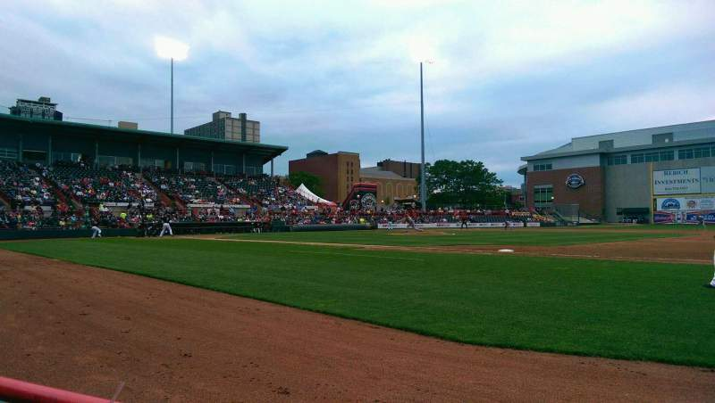 Seating view for UPMC Park Section 104 Row A Seat 12