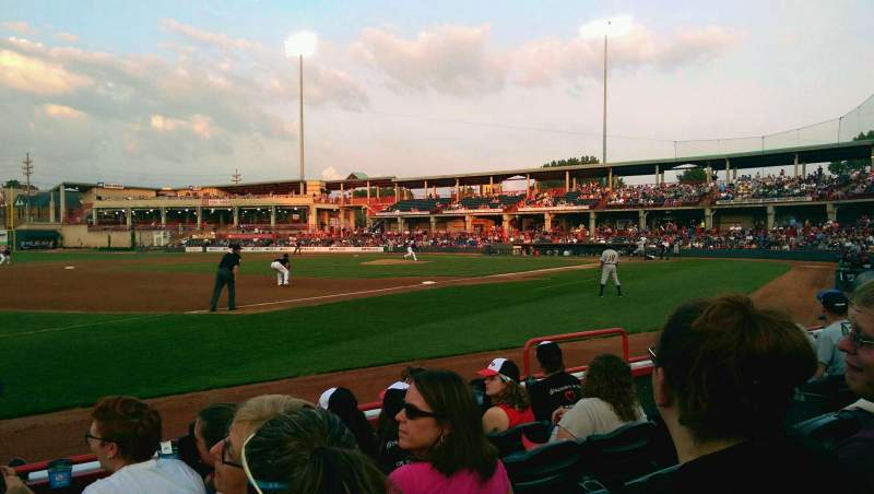 Seating view for UPMC Park Section 115 Row E Seat 7