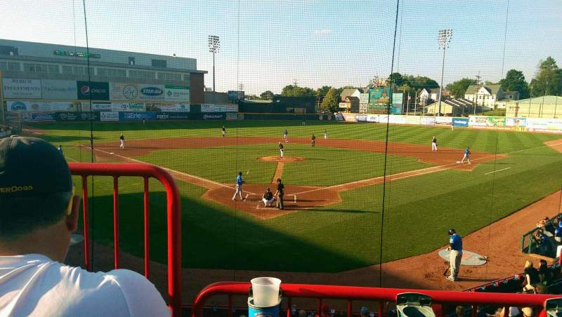 Seating view for UPMC Park Section 206 Row BB Seat 10