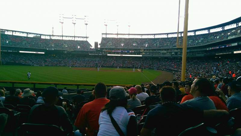 Seating view for Comerica Park Section 146 Row M Seat 1