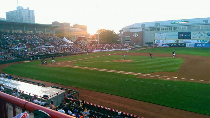 Seating view for UPMC Park Section 202 Row AA Seat 6