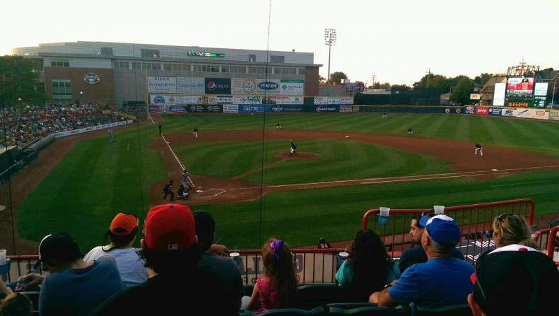Seating view for UPMC Park Section 205 Row EE Seat 5