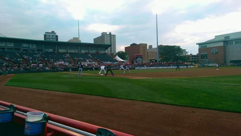 Seating view for UPMC Park Section 103 Row A Seat 2