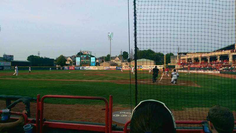 Seating view for UPMC Park Section 110 Row C Seat 14