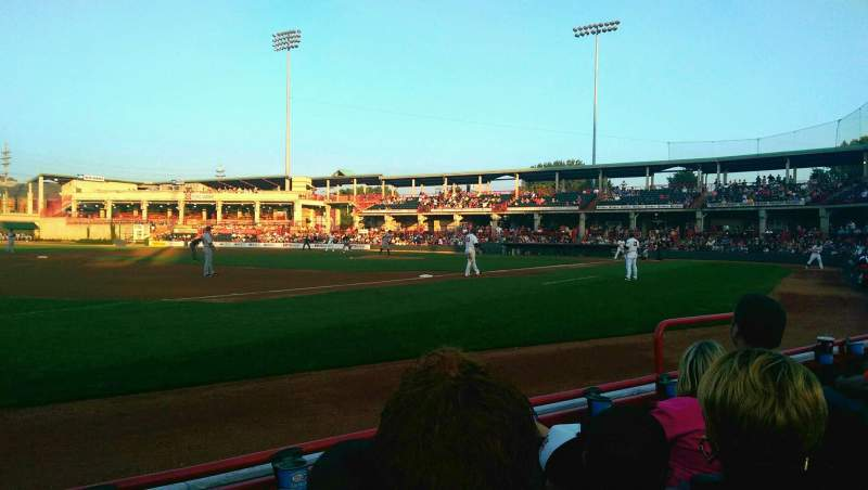Seating view for UPMC Park Section 115 Row C Seat 6