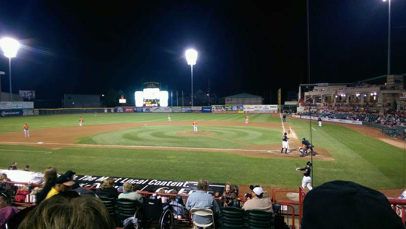 Seating view for UPMC Park Section 209 Row CC Seat 1