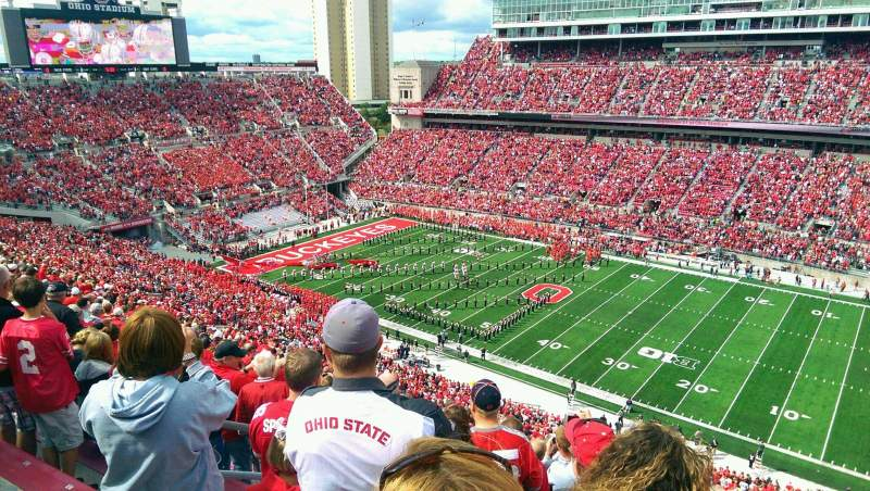 Seating view for Ohio Stadium Section 16C Row 24 Seat 29