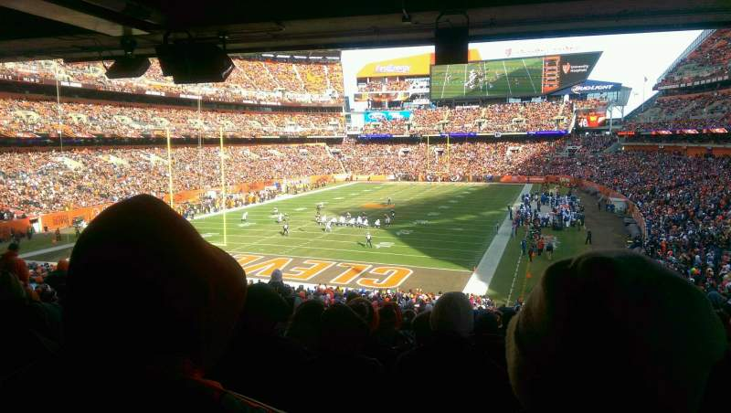 Seating view for FirstEnergy Stadium Section 149 Row 38 Seat 18
