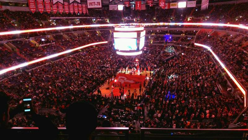 Capital One Arena, section: 427, row: G, seat: 12