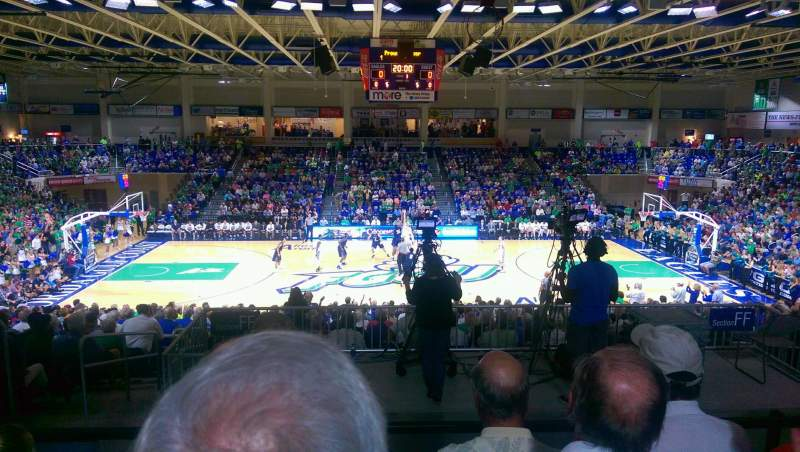 Seating view for Alico Arena Section FFF Row 4 Seat 13