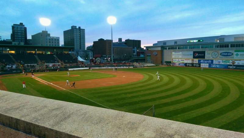 Seating view for UPMC Park Section Party Deck Row E Seat GA