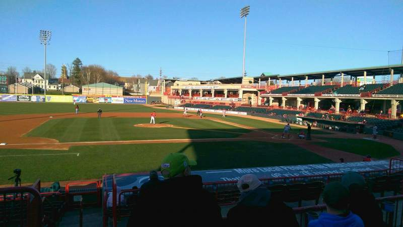 Seating view for UPMC Park Section 210 Row CC Seat 15